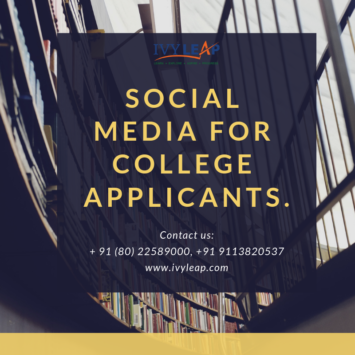 Social Media For College Applicants.