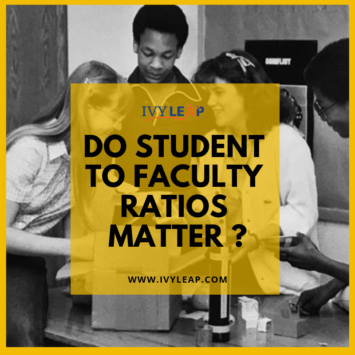 Do Student To Faculty Ratios Matter ?