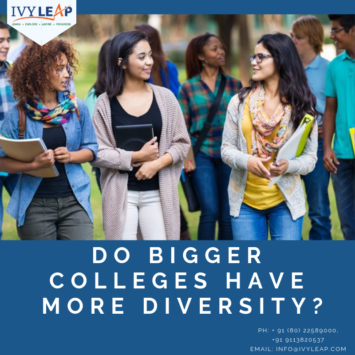 Do Bigger Colleges Have More Diversity?