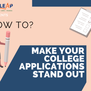 HOW TO: MAKE YOUR COLLEGE APPLICATION STAND OUT