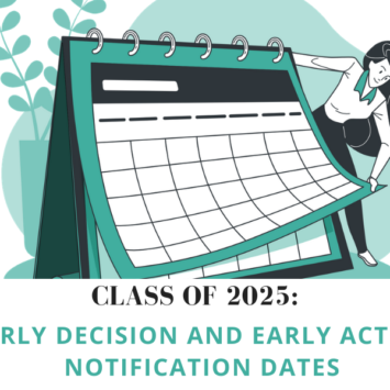 Class of 2025: Early Decision and Early Action Notification Dates