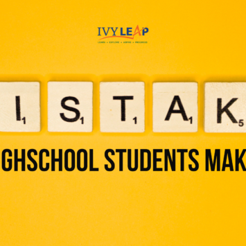 MISTAKES HIGH SCHOOL STUDENTS MAKE!